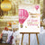 Hot Air Adventure Awaits Balloon Baby Shower Welcome Canvas Sign