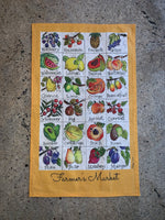 Load image into Gallery viewer, Farmer's Market Tea Towel