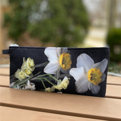 Daffodil Belle Isle Pencil Pouch
