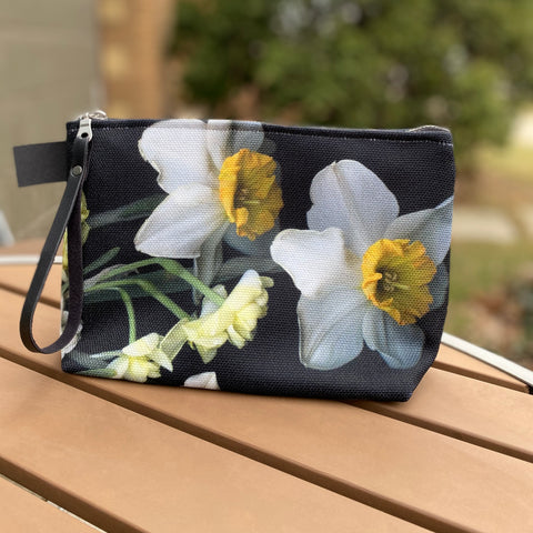 Daffodil Belle Isle Make up Pouch