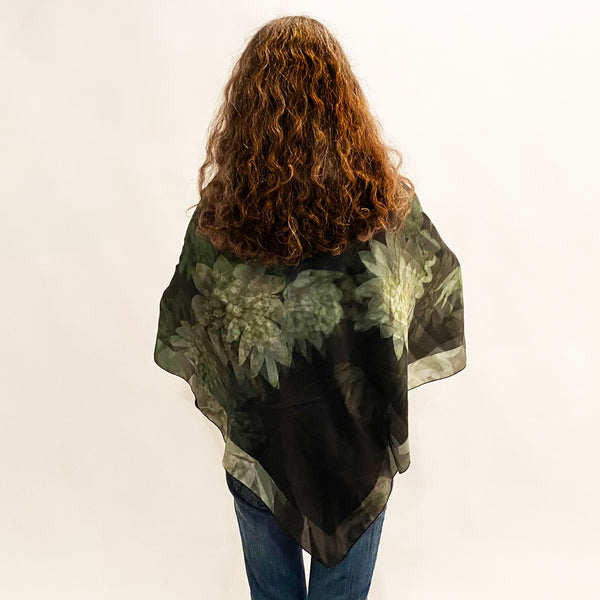 Astrantia Square Scarf - Silk