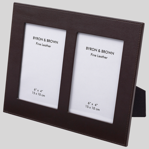 Multi Aperture Double 6x4 Picture Frames Byron Brown