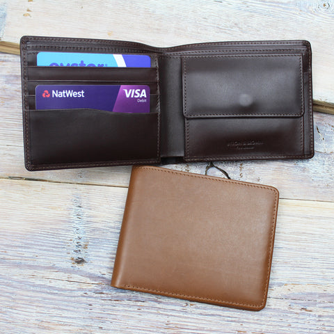 Classic 4 Cards & Coin Pocket Wallet