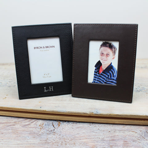 Classic Leather Photo Frames