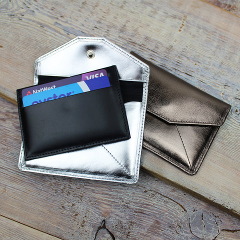 Metallic Envelope Card Holder
