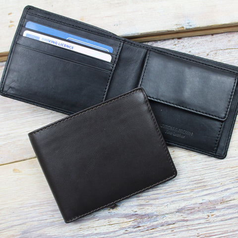 Enzo Nappa 4 Cards and Coin Pocket Wallet