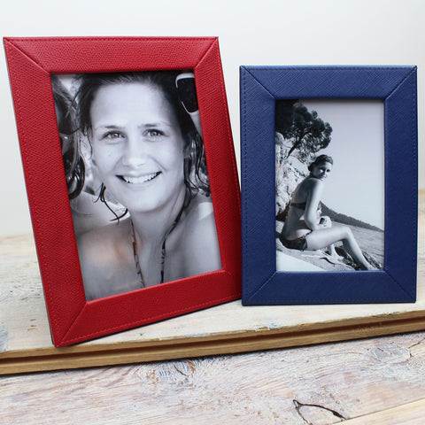 Premium Slim Leather Photo Frame
