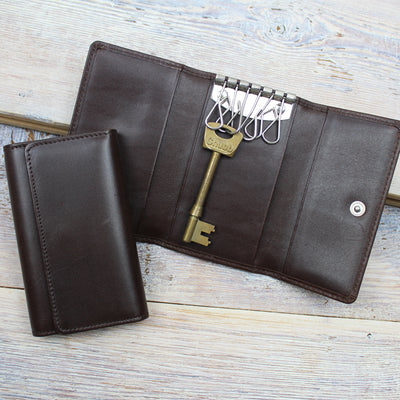 Folding Leather Key Case
