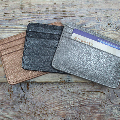 Leather 7 Credit Card Holder