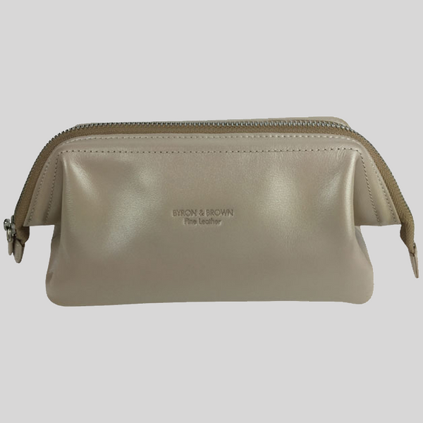 Everyday Cosmetic Bag Soft Gold