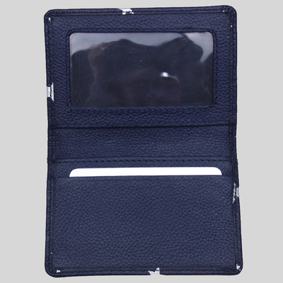 Star Print Travel Card Holder with strap