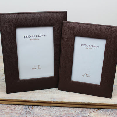 Vintage Leather Photo Frame
