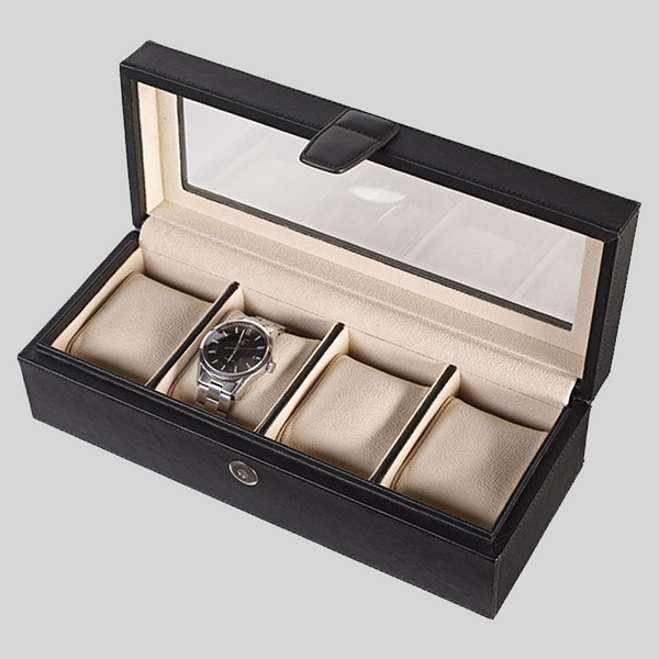 Luxury Leather Watch Box