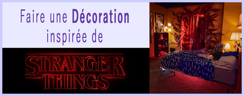 décorer chambre stranger things