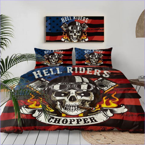 Housse de Couette Hell Riders - couettedouillette