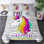 Housse de Couette Licorne - Time to Be