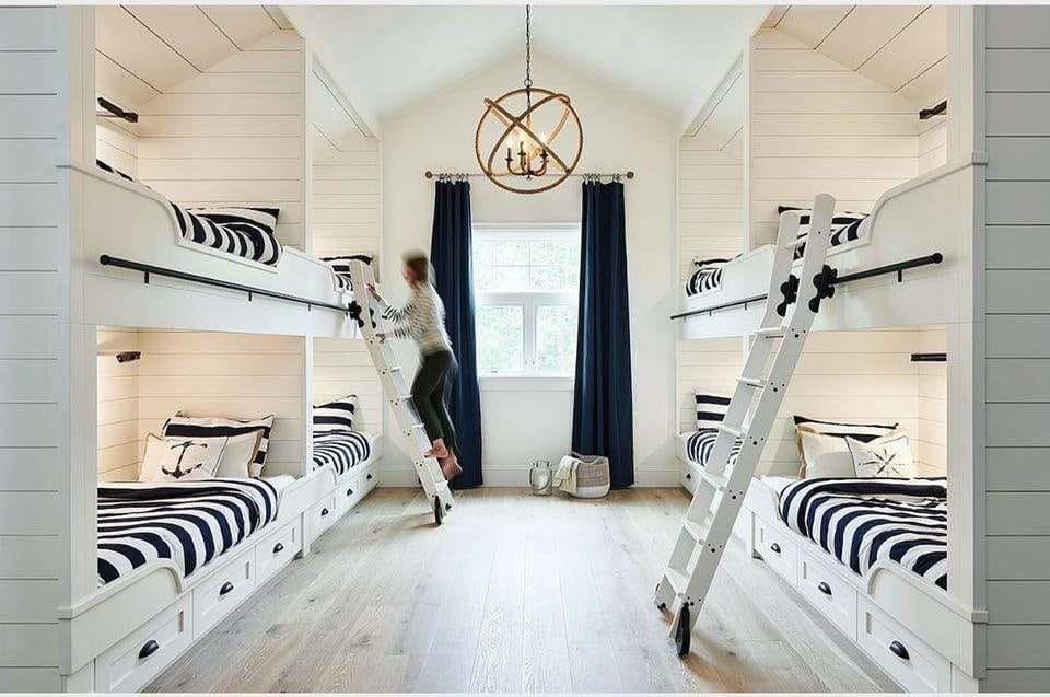 chambre amis style marin couettedouillette