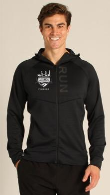 Men's Tech Zip Hoody - Navy 'Finisher Design' - SF Marathon