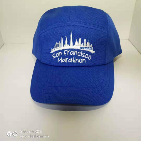 Race Cap - Royal 'Skyline Design' - SF Marathon