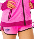 Women's Two-Layer Sporty Shorts - Candy Pink 'Skyline Design' - SF Marathon