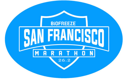 Magnet - Blue 26.2 'Shield Design' - SF Marathon