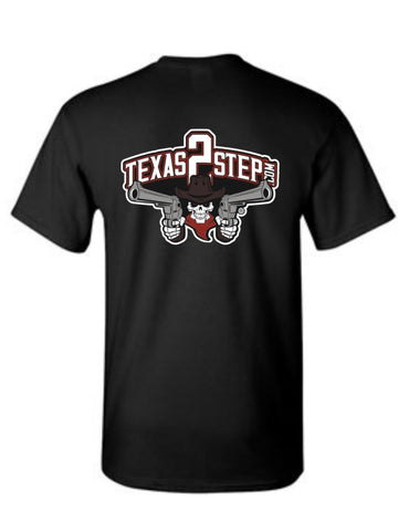 Texas 2 Step short sleeved t-shirt - NEW DESIGN