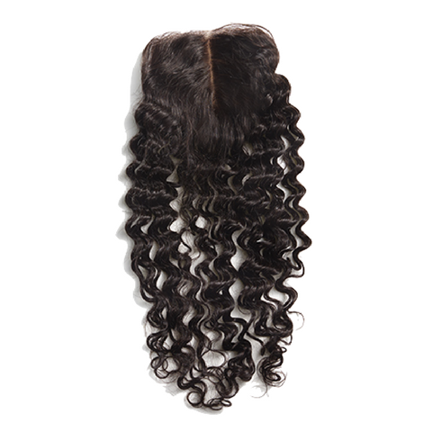 Silk Closure - Curly