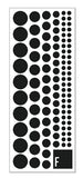 Ishidots reflective stickers pack pattern