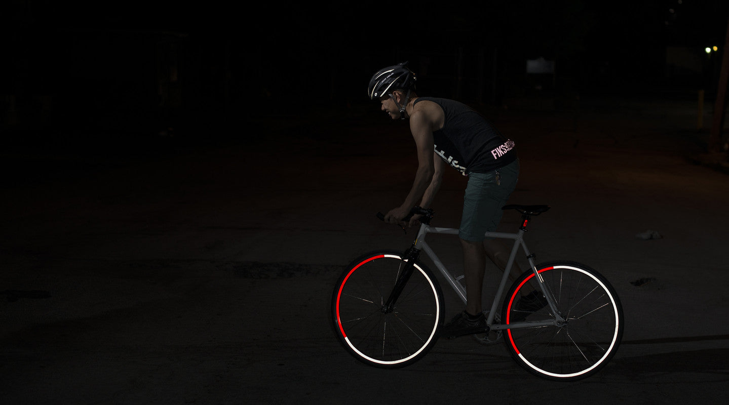 Fiks:Reflective Wheel Stripes