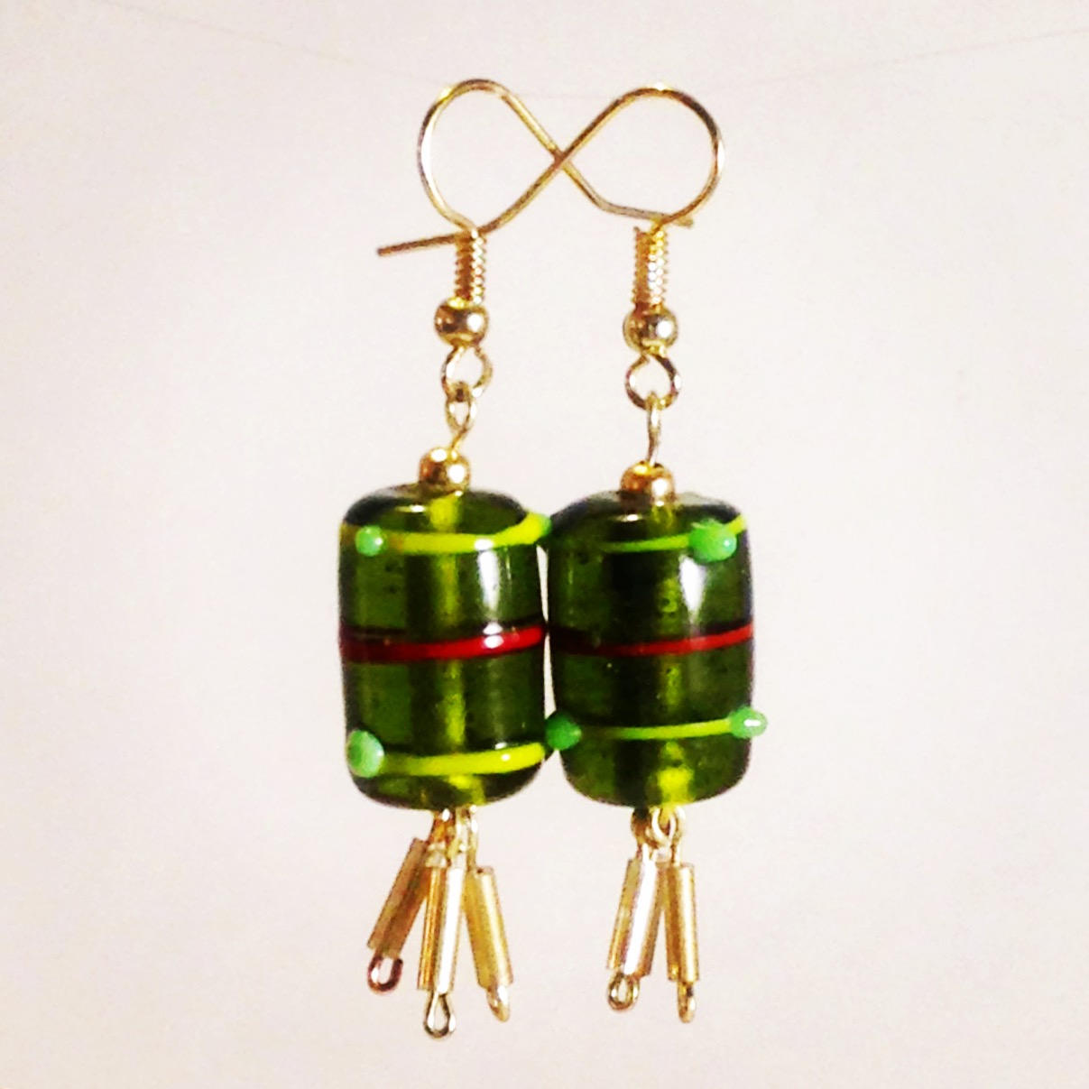 the AWO || drop glass earrings