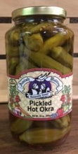Load image into Gallery viewer, Amish Wedding Pickled Okra (16 or 32) Oz