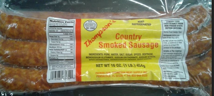Breakfast Cut Smoked Sausage (16) Oz