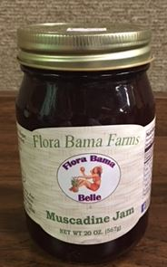 Flora Bama Farms Jam's & Jelly (20) Oz