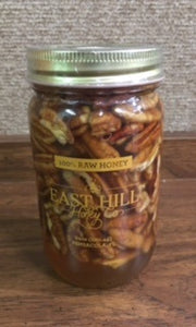 East Hill Pecans in Honey (24) Oz