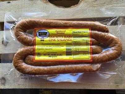 Kelley's Baby Link Smoked Sausage (16) Oz