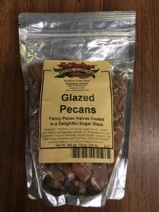 Glazed Pecans (12) Oz