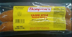 Thompson Cajun Smoked Sausage (16) Oz
