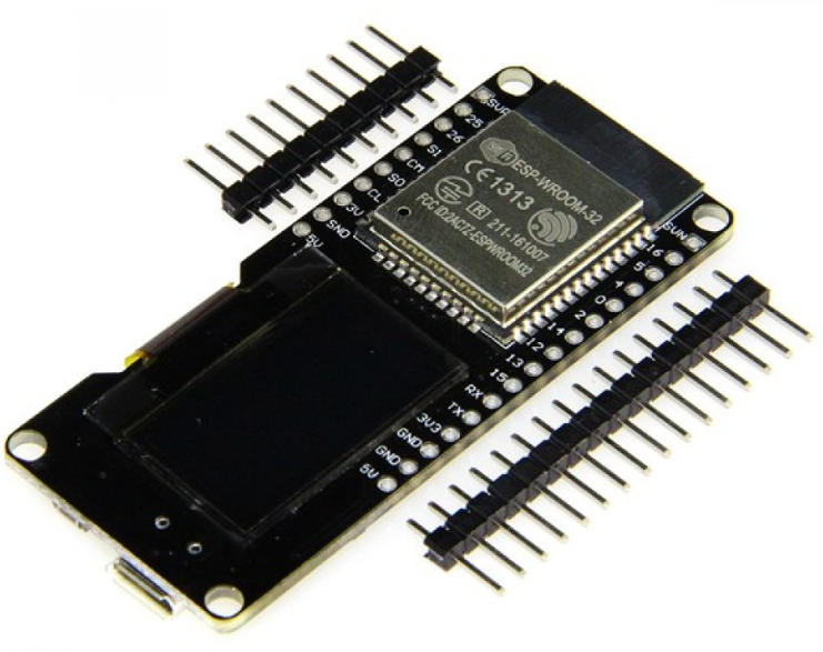ESP32 con display OLED de 128x64, Wi-Fi, Bluetooth, CP2102