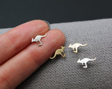 Kangaroo stud Earrings, Wallaby Earrings, Wild animal studs