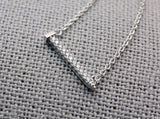 Cubic detailed Nail pendant Necklace, Tools Necklace, Hand Tool necklace