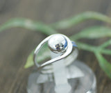 925 Sterling Silver Ball Ring 2, R0175S