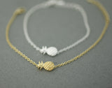 Cute Pineapple charm Bracelet in 2 colors, B0618G