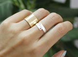 Cute Ruler Adjustable  Ring in 2 colors