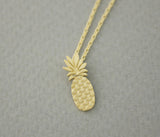 Cute Pineapple pendant necklaces in 2 colors, N0655G