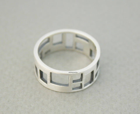 thick ring thin engagement band wedding image topic rings