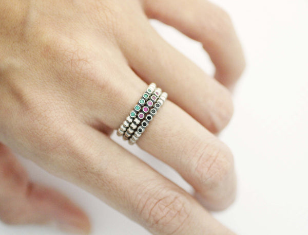 jewelry stacked beautiful stack silver croi rings ring heart theirishstore p com sterling alainn gifts a stackable irish
