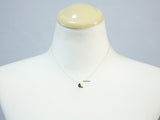 cute and Tiny Bird enamel pendant necklace in Gold / Silver, N0709G