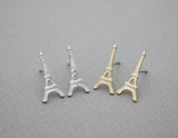 Eiffel Tower studs earrings in 2 colors, E0957S