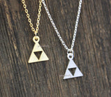 Tri Force Necklace in gold / silver, N0283S
