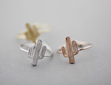 Cactus ring, Cacti Tree ring in 3 colors, R1044K